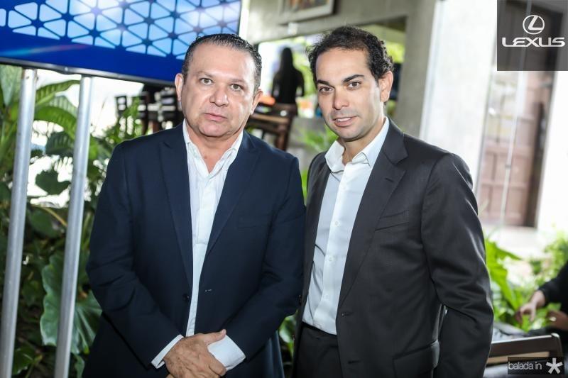 Max Bezerra e Claudio Vale