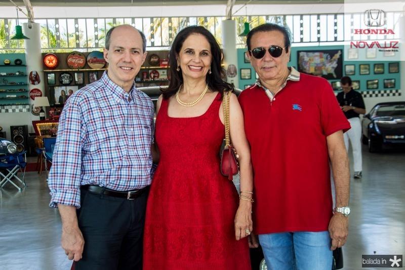 Marcelo Ferrer, Glaucia Ferrer e Gaudencio Lucena