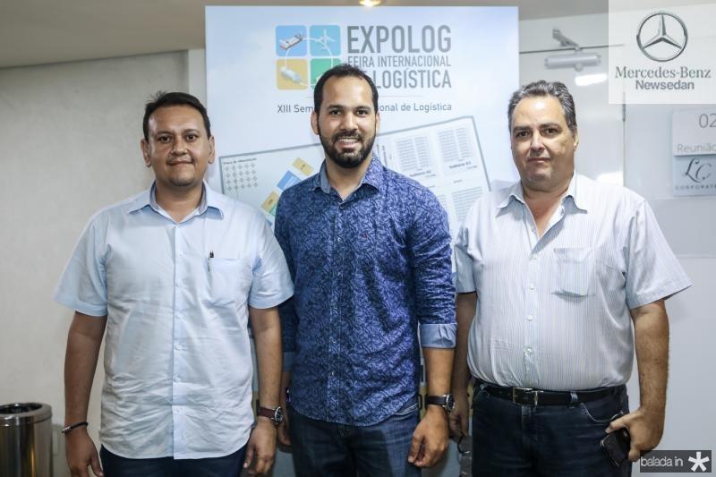 Marcelo Freitas, Carlos Dourado e Carlos Oliveira