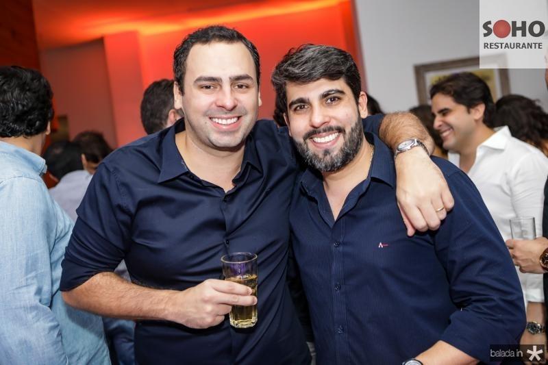 Rodrigo Ventura e Joao França