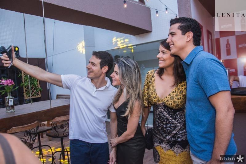 Walmyr Magalhaes, Mirela Magalhaes, Camila Cidrao e felipe Cidrao