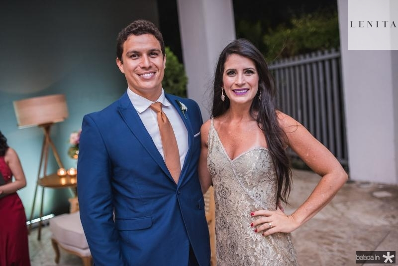 Daniel Aires e Maiara Rios