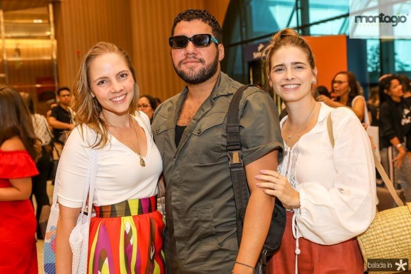 Natalia Petroni, Iury Costa e Gisela Frank