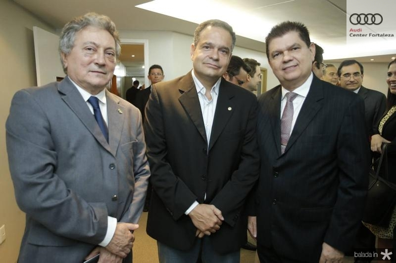 Euvaldo Bringel, Paulo Henrique Lustosa e Mauro Benevides Filho