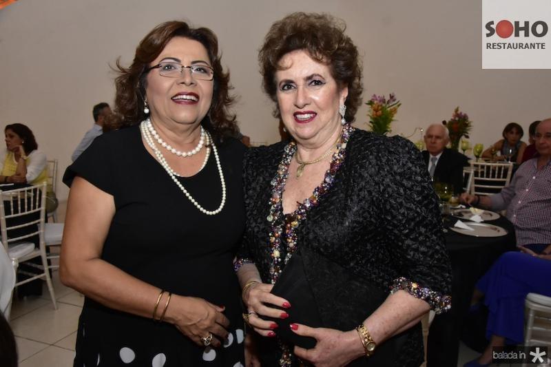Vanda Bastos e Leda Maria Soldo