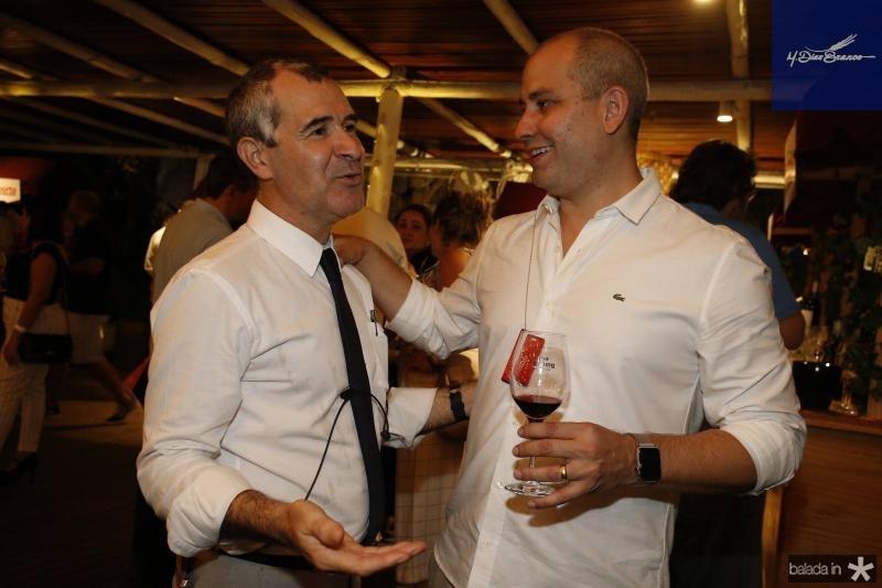 Jorge Bita e Andre Linheiro