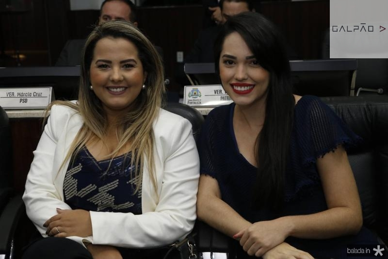 Raisa Ridia e Carol Vasconcelos