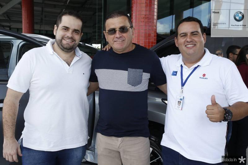 Luiz Filho, Luiz Queiroz e Germano Barbosa