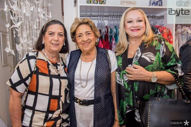 Ligia Pinheiro, Lucia Pinto e Eugenia Pinto