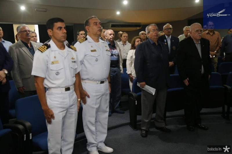 Alexandre Silva, Madson Cardoso, Maton Vasconcelos e Almirante Oberg