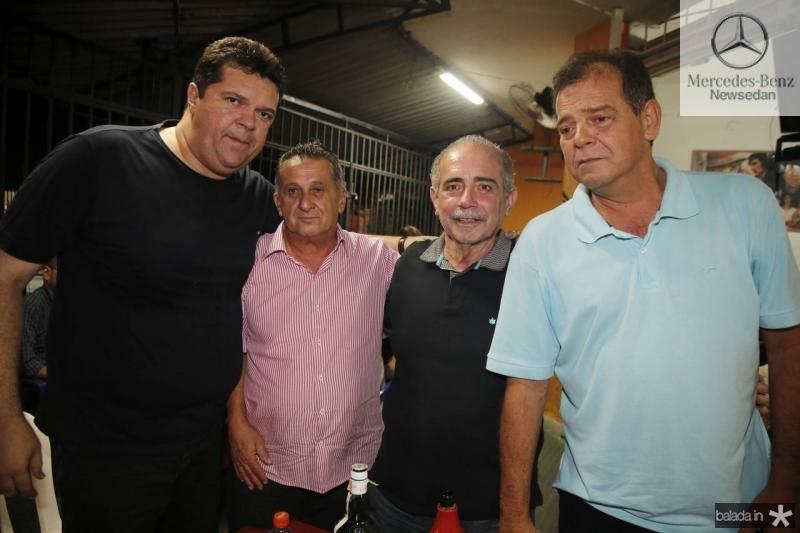 Wilton Bezerra, Didico Vasconcelos, Clovis Neto e Haroldo Pedreira