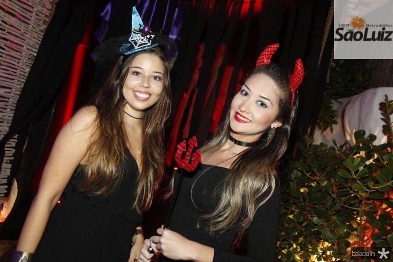 Liana Moura e Camila Ribeiro