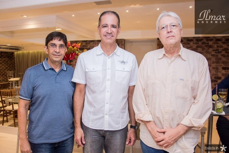 Vagner Teixeira, Regis Medeiros e Abel de Castro