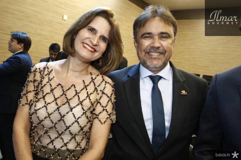 Daniela Cabral e Gilberto Costa