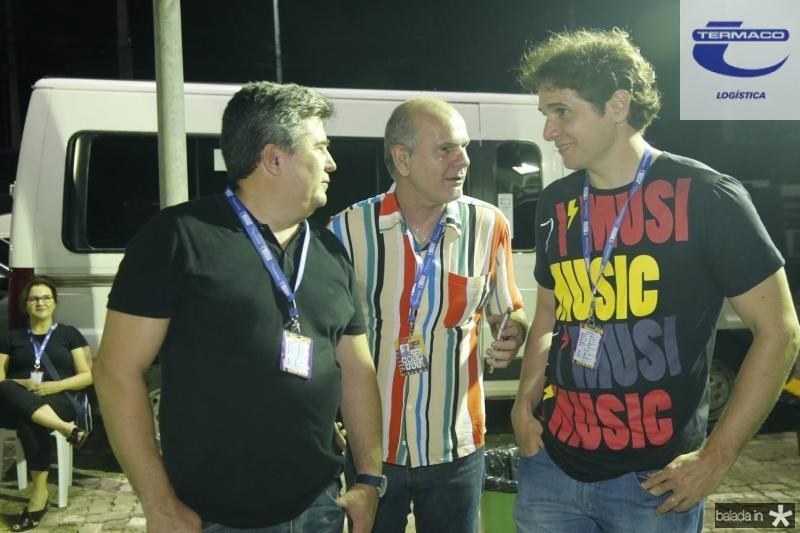 Vilemar Ferreira, Joao Carlos Diogenes e Benjamin Oliveira