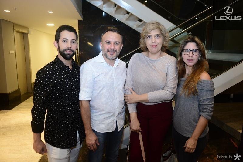 Renan Gib, Vinicios Lima, Celina Dias