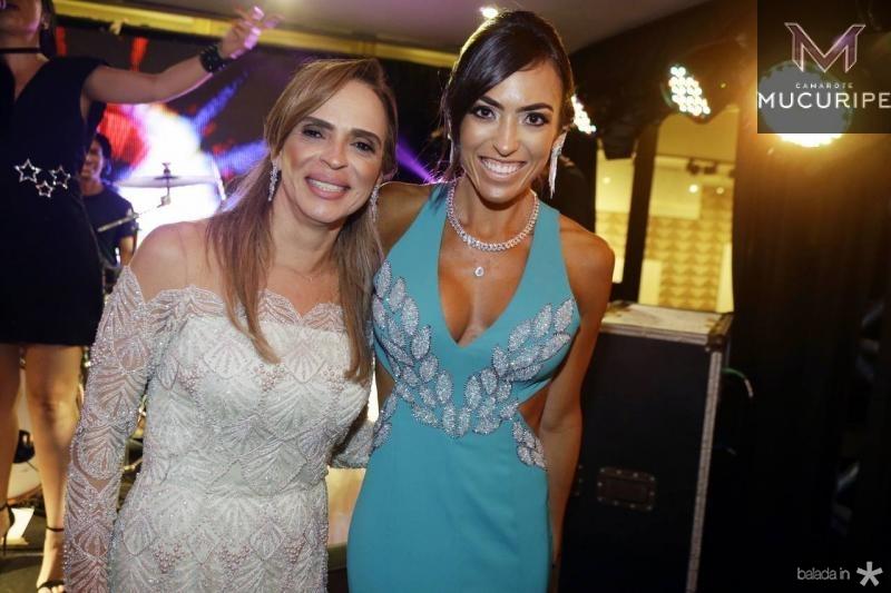 Sonia Ximenes e Tainah Juanuk