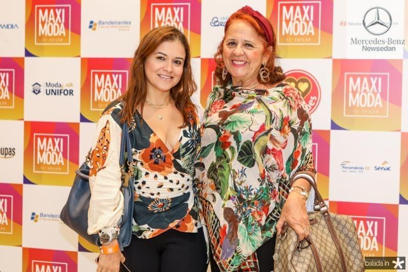 Vivian e Fatima Duarte
