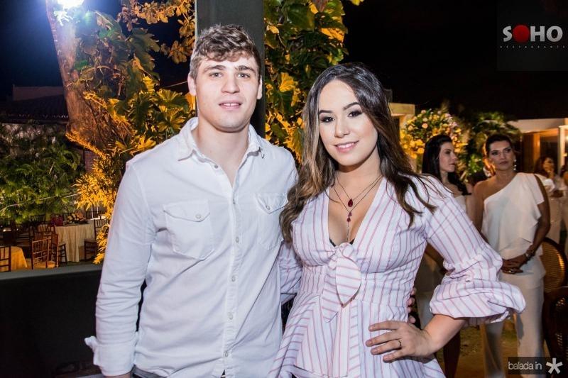 Lucas Braga e Larissa Meira