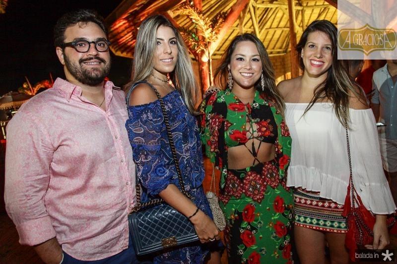 Alcimor e Petricia Rocha, Suzana Abreu e Priscila Fontes