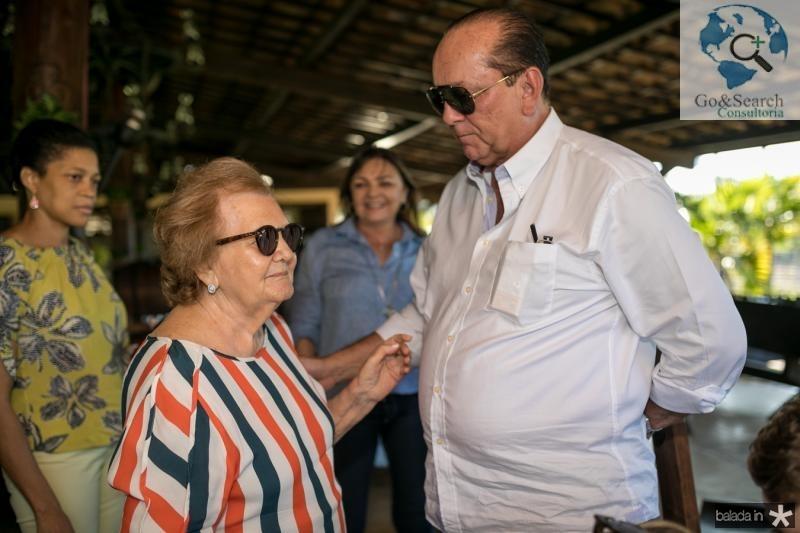 Doniha Feitosa e Rafael Leal