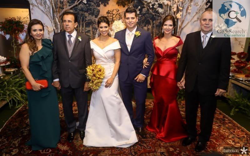 Joao e Marcia Mendes, Larissa Ximenes e Newton Bastos, Cristine e Newton Basto