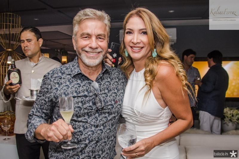 Eugenio Pontes e Daniele Holanda