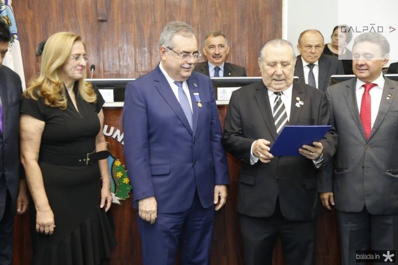 Edna e Assis Cavalcante, Idalmir Feitosa e Jose Porto