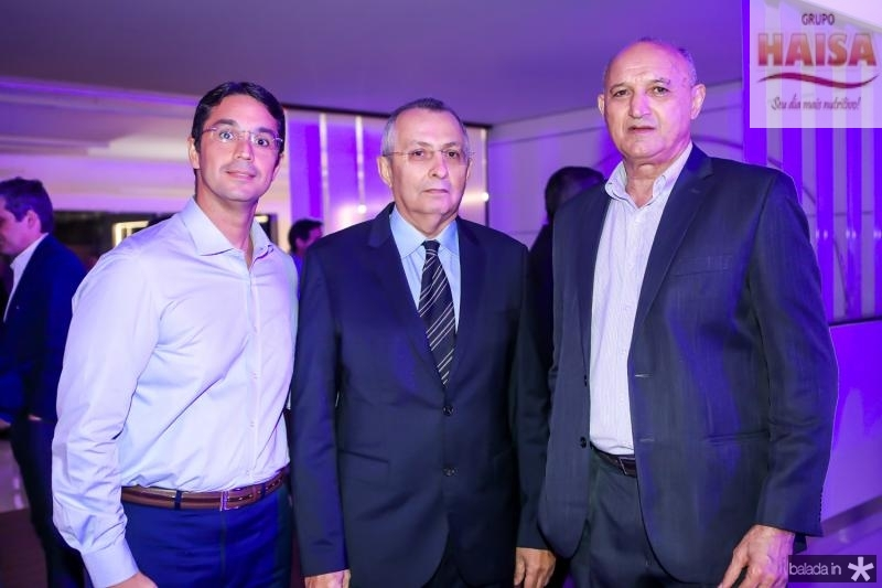 Francisco Dias, Odilon Peixoto e Flavio Jacinto