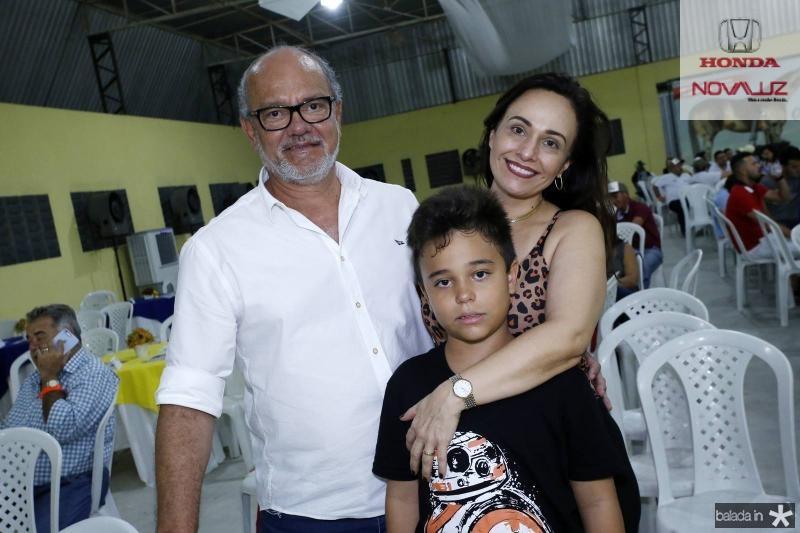 Aristides, Aristides Filho e Joelma Feitosa