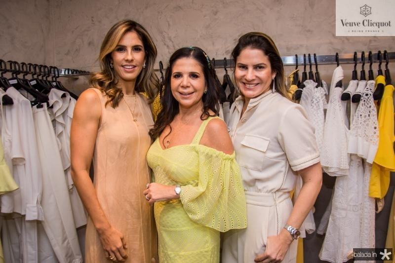 Marilia Fiuza, Maria Lucia Negrao e Luciana Borges