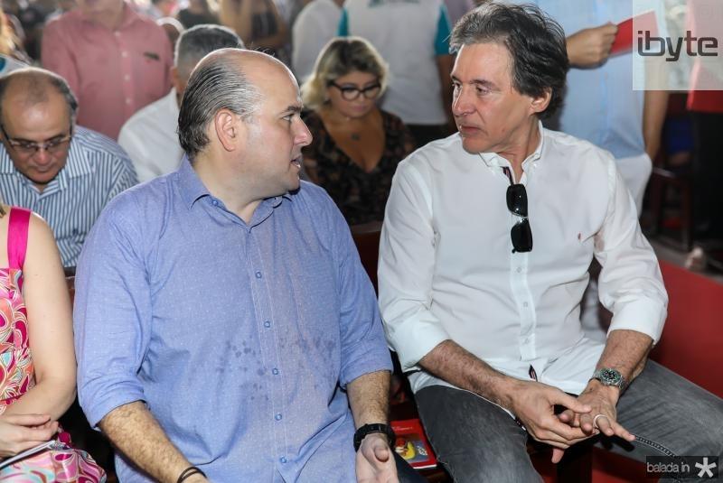 Roberto Claudio e Eunicio Oliveira