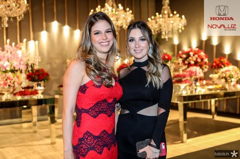 Priscila Bezerra e Amanda Maia
