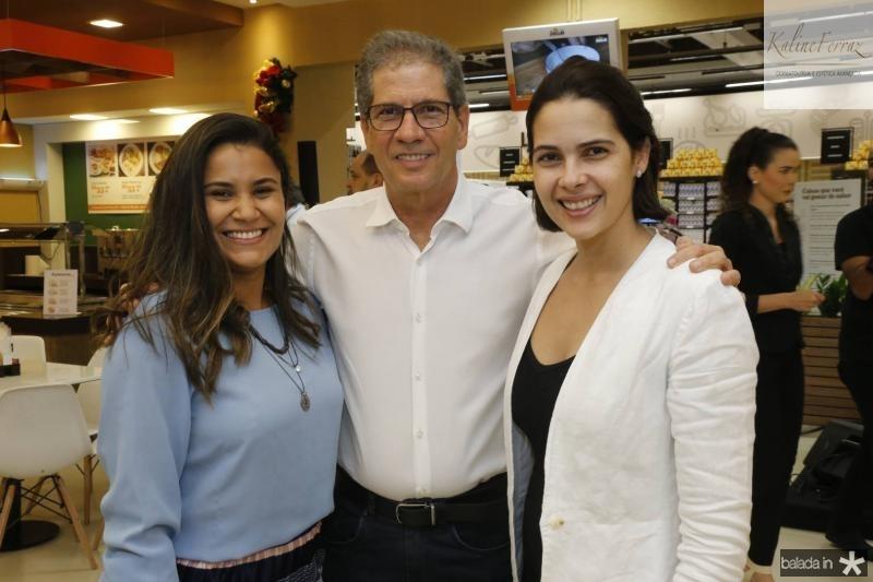 Gisele Patricio, Severino Neto e Joana Ramalho
