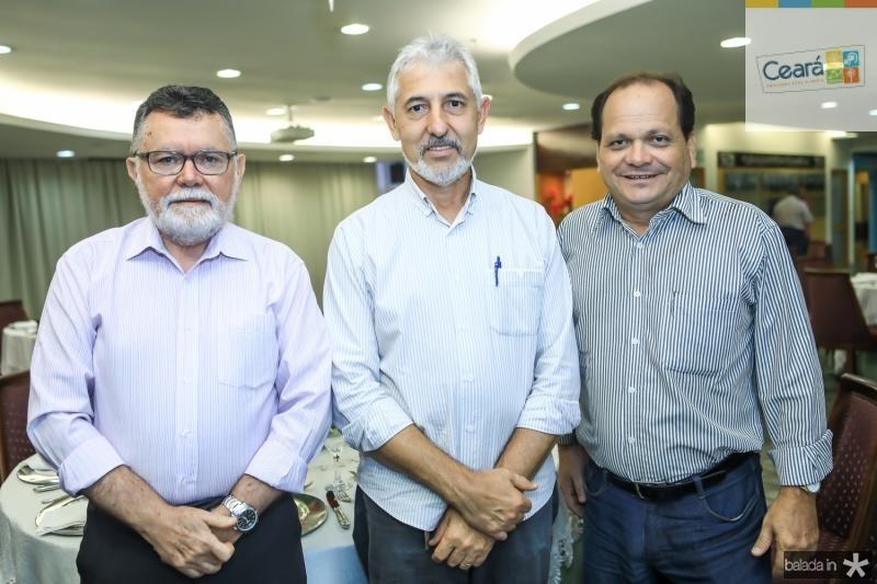 Marcos Albuquerque, Lauro Martins e Fernando Ximenes