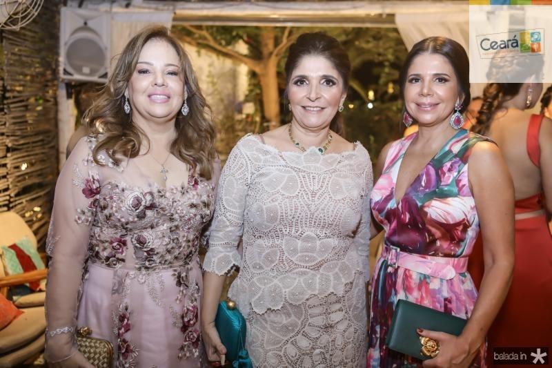 Marcia Castro, Cristiane Figueiredo e Maria Lucia Negrao