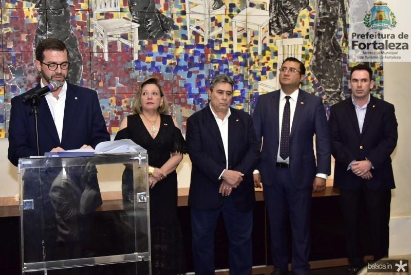 José Maria Zanocchi, Fernanda Jensen,  Roberto Misici, Sergio Baias e Janus Fuzesi