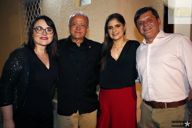 Adriana e Antonio Cerqueira, Sara Franklim e Miguel Leal