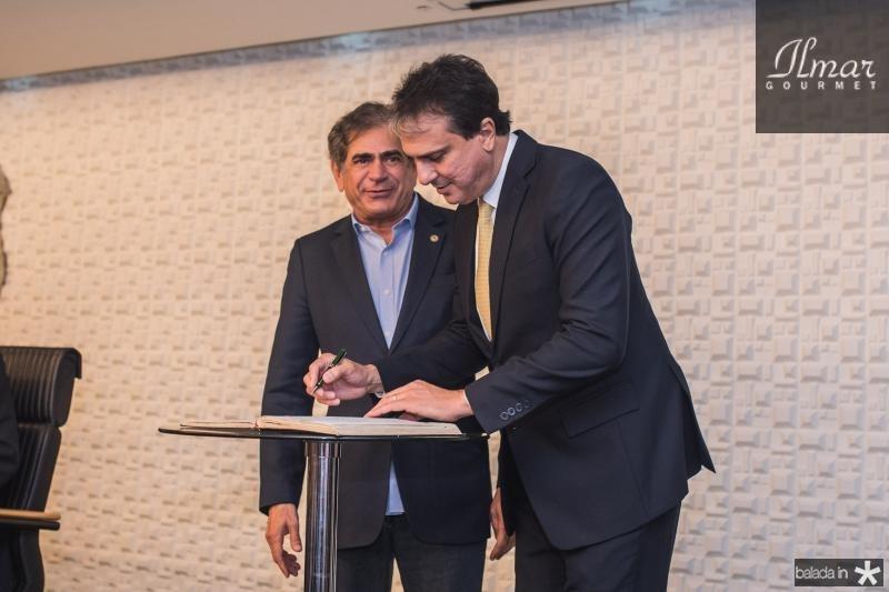 Zezinho Albuquerque e Camilo Santana