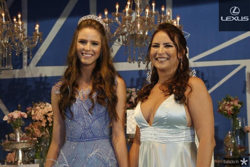 Clara Dal Belo e Camila Nobre