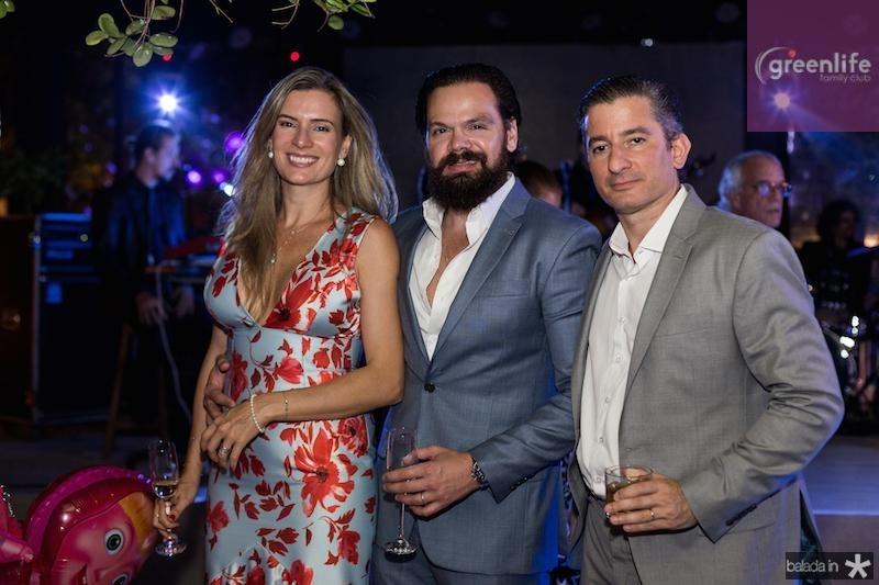 Beatriz, Bruno e Miki Carvalho