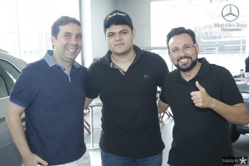 Cristiano Barreira, Andre Sampaio e Phellipe de Paula
