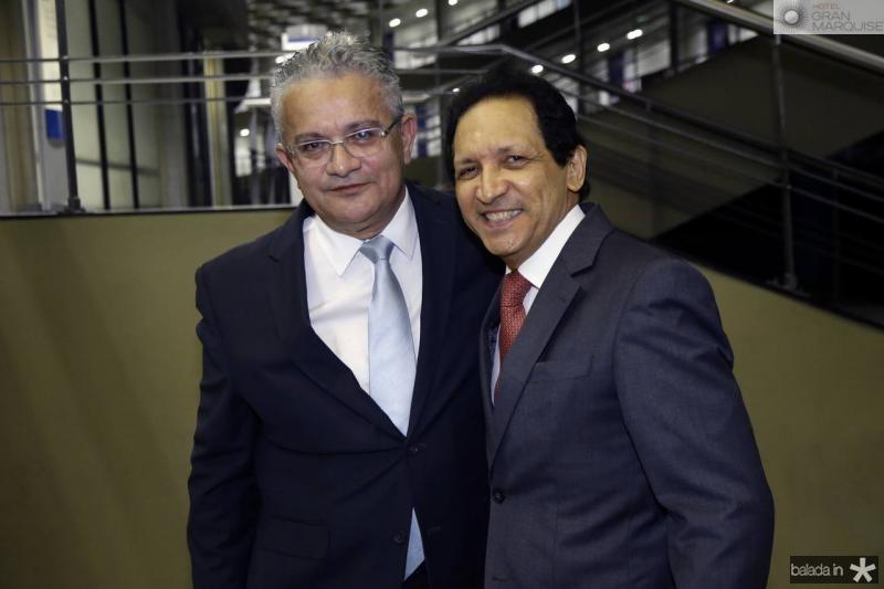 Luiz Sergio Santos e Djalma Pinto