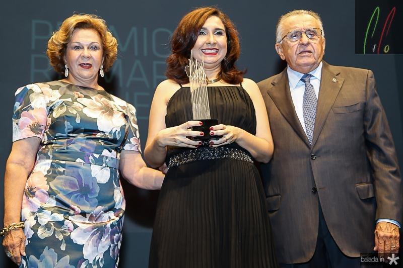 Auxiliadora Paes Mendonça, Neila Fontenele e Joao Carlos Paes Mendonça