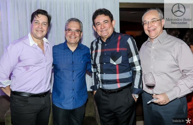 Leo Bossa, Ricardo Braga, Fernando Santana e Roberio Leite