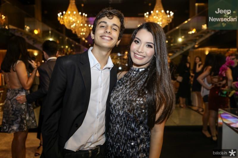 Lucas Bride e Sofia Leal