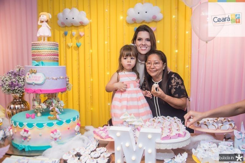 Maria Carolina Araujo, Claudia Araujo e Luzia Ribeiro