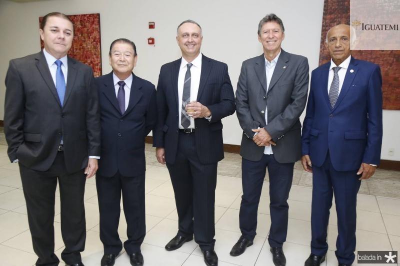 Eliseu Barros, Orlando Cubo, Julio Cosentino Luciano Carneiro e Edilson Baldez