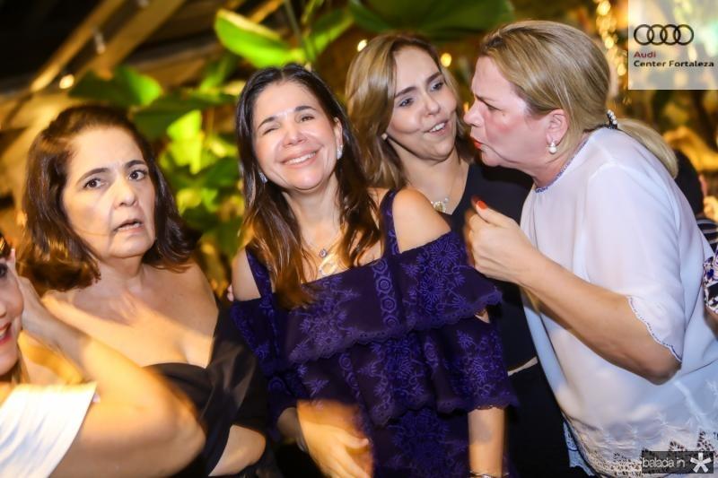 Giana Studart, Maria Lucia Negrao, Ailza Ventura e Regis Rodrigues