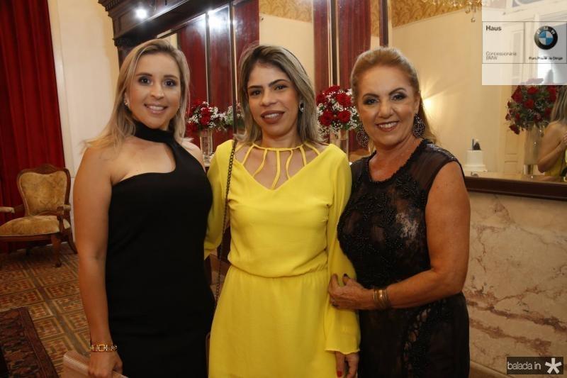 Luiza Moura, Marilia Gabriela e Conceicao Guimaraes